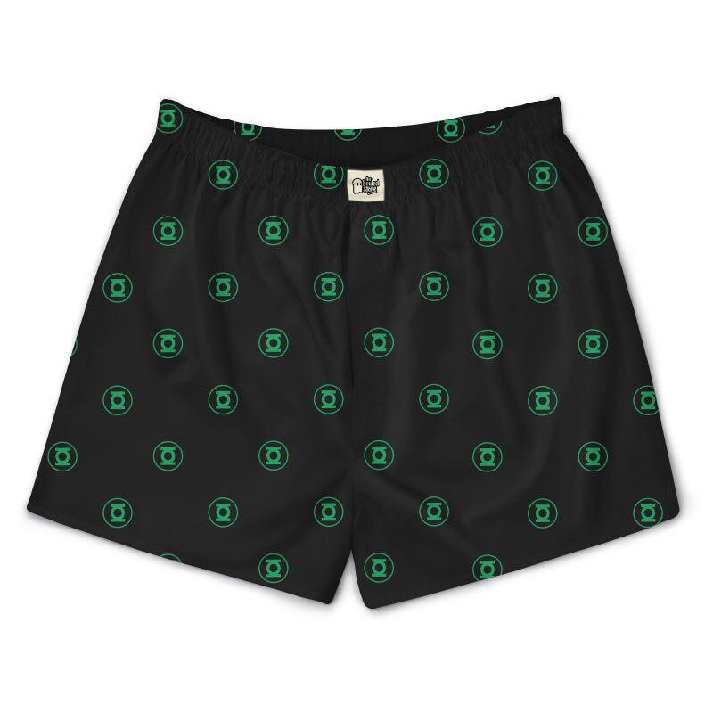 Green Lantern: Logo Pattern Boxers | DC Comics™