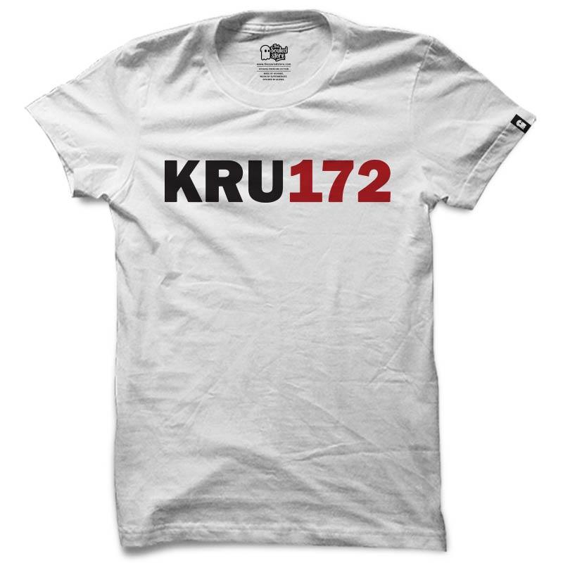 Kru172: Logo (White) T-Shirts   Kru172