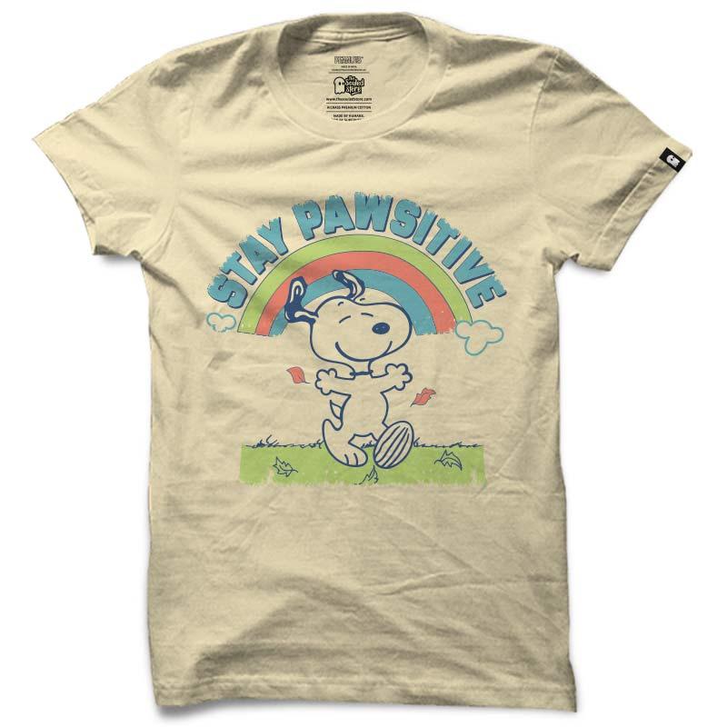 Peanuts: Stay Pawsitive T-Shirts | Peanuts™