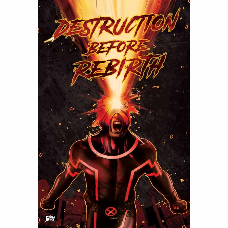 Cyclops: Destruction Before Rebirth Posters | Marvel™