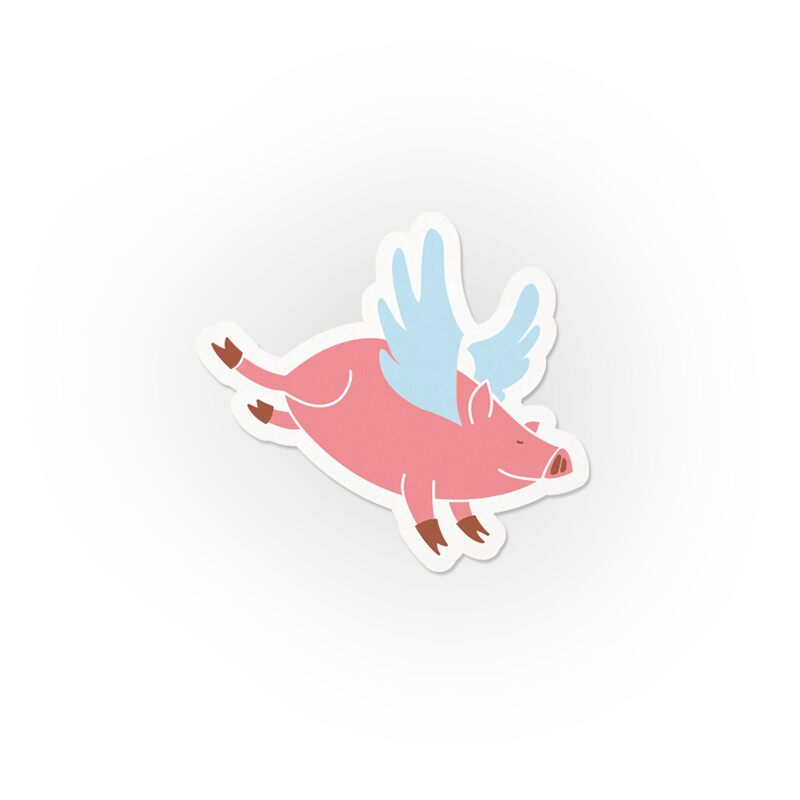 Flying Pigs Stickers | The Souled Store