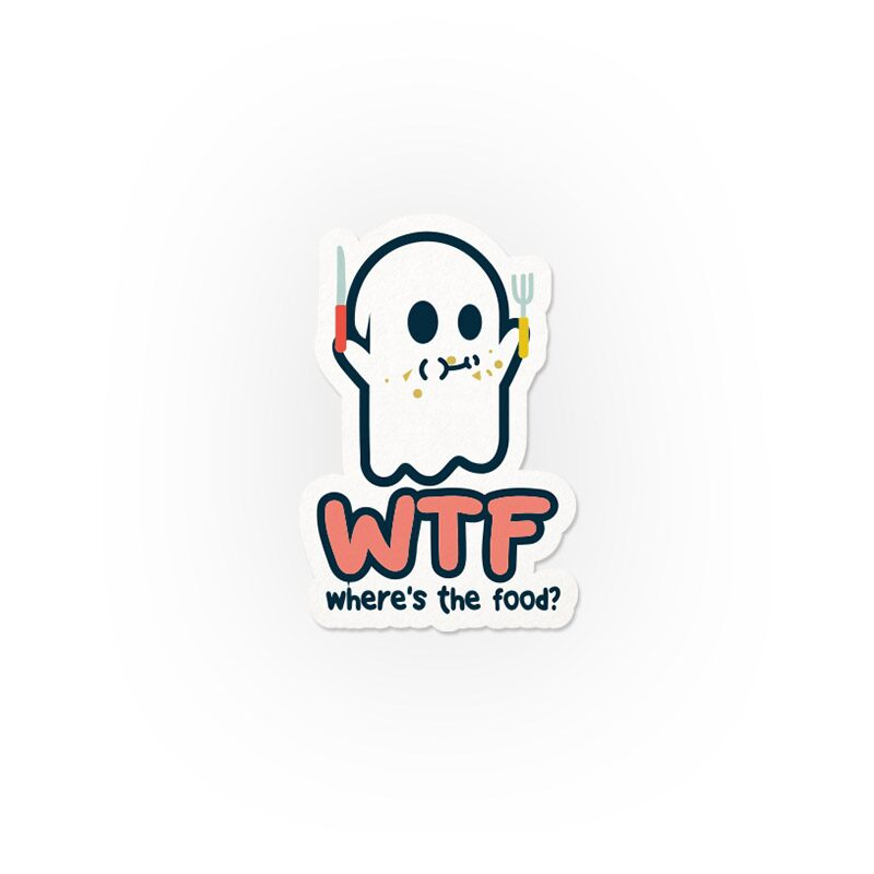 Mr Souls: WTF Stickers | The Souled Store