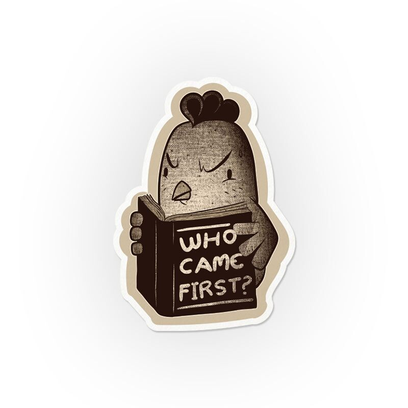 Who Came First? Stickers   Tobe Fonseca