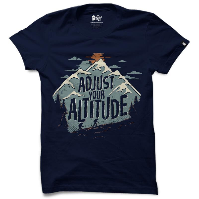 Adjust Your Altitude T-Shirts | The Souled Store