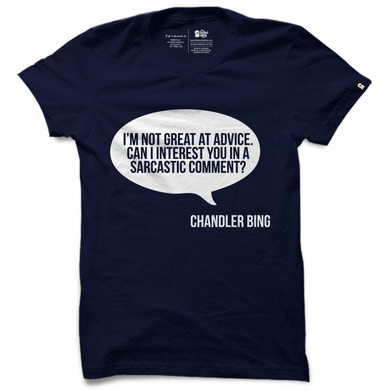F.R.I.E.N.D.S: Chandler Bing T-Shirts | F.R.I.E.N.D.S™