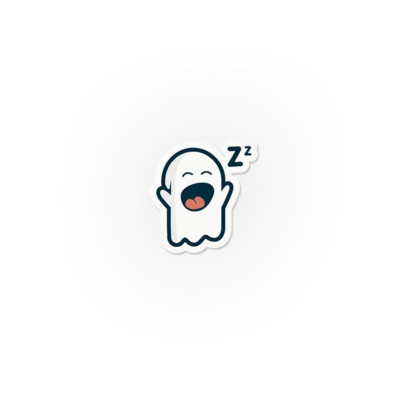 Mr Souls: Yawning Stickers | The Souled Store