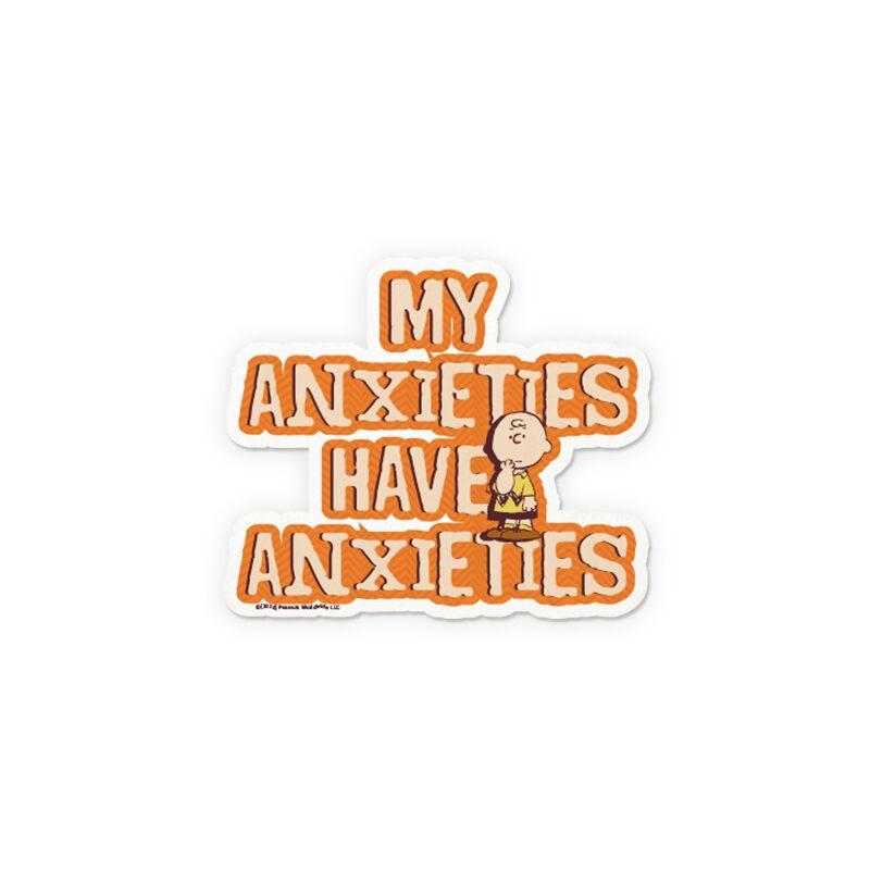 Peanuts: My Anxieties Stickers | Peanuts™