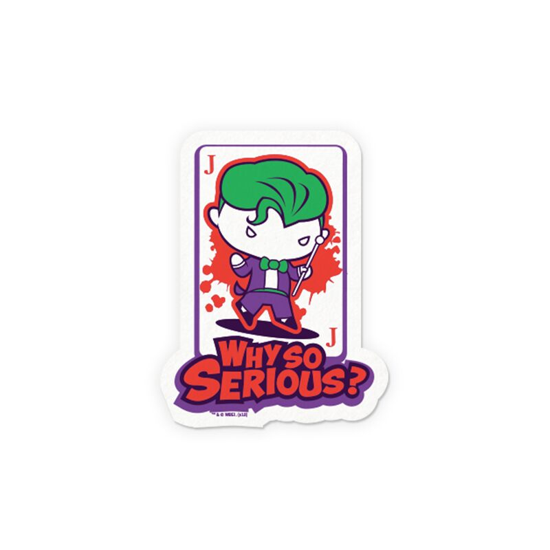 Joker: Why So Serious? Stickers | DC Comics™