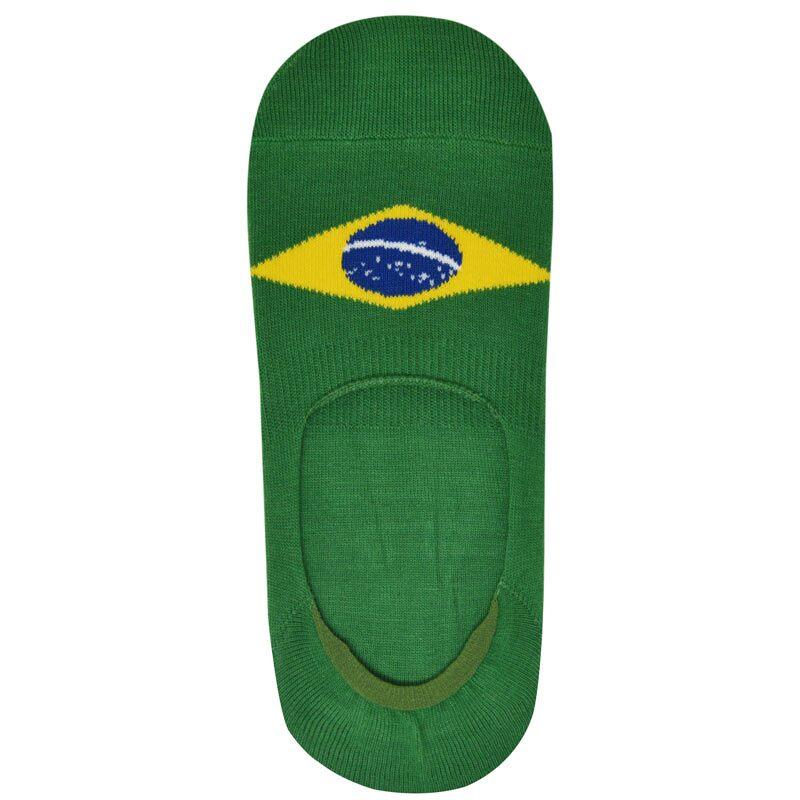 Football World Cup: Brazil No Show Socks Socks | The Souled Store