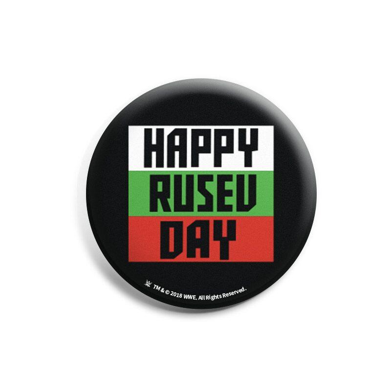 "WWE: Rusev ""Happy Rusev Day"" Badges | WWE®"