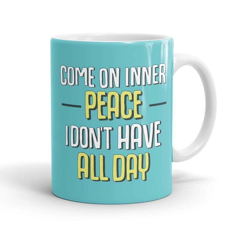Tinkle: Inner Peace Mugs | Tinkle
