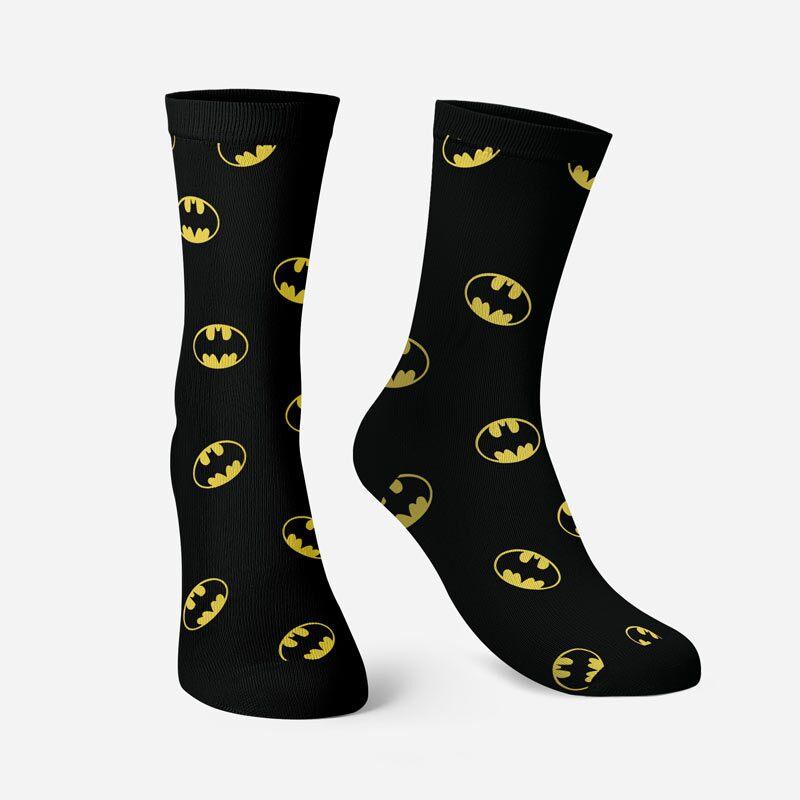 Batman: Classic Logo Pattern Socks | DC Comics™