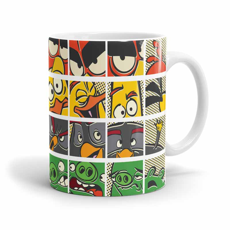 By Angry Birds