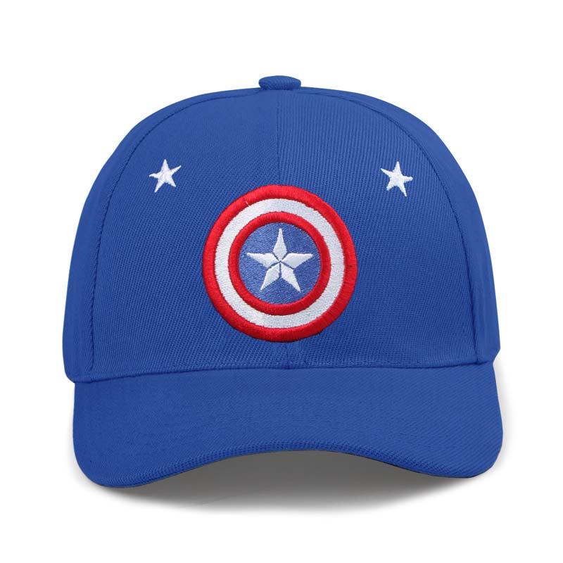 Captain America: Logo Caps | Marvel™