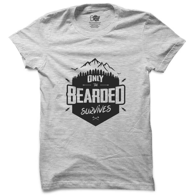 The BeardFellas: The Bearded Survives T-Shirts | The BeardFellas