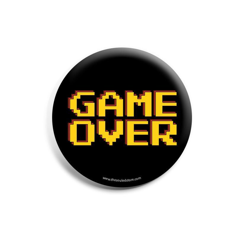 Game Over Badges | The Souled Store