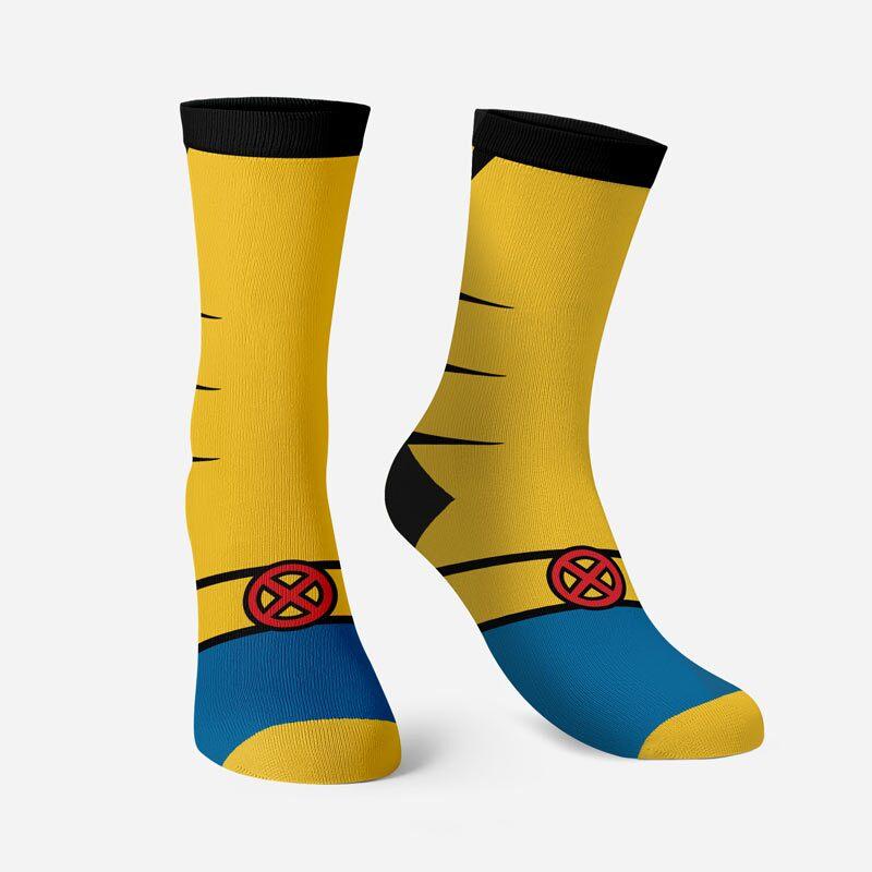 Wolverine: Costume Socks   Marvel™