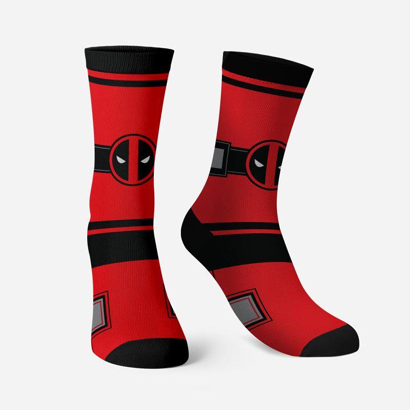 Deadpool: Costume Socks | Deadpool™