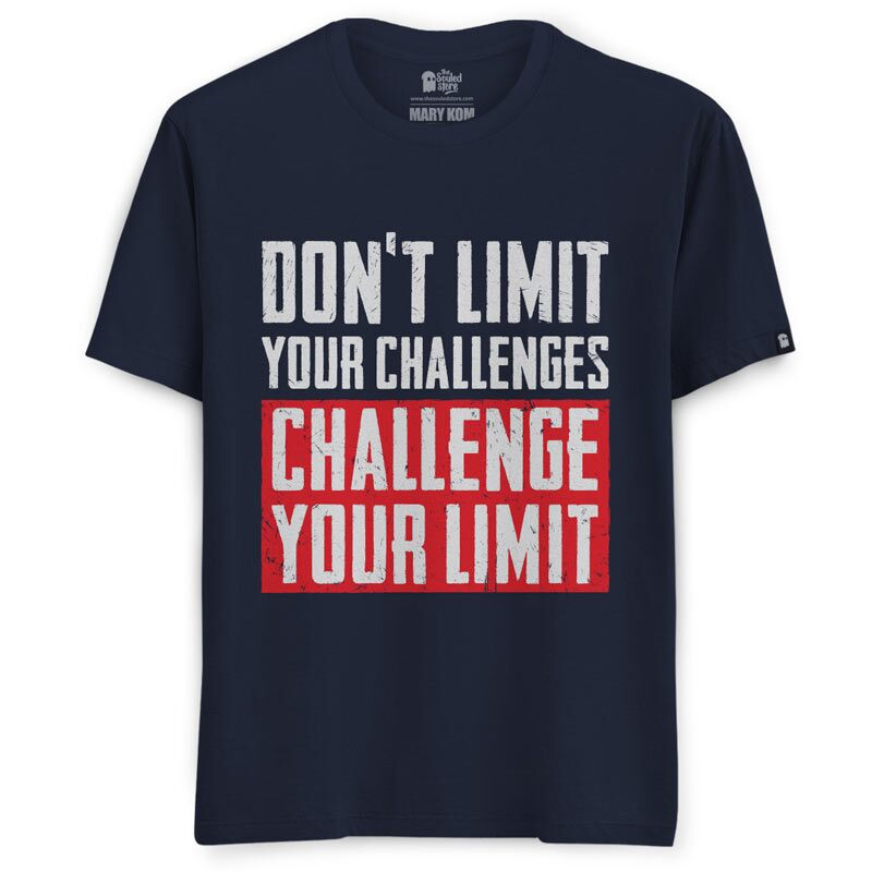 Mary Kom: Challenge Your Limit T-Shirts | Mary Kom