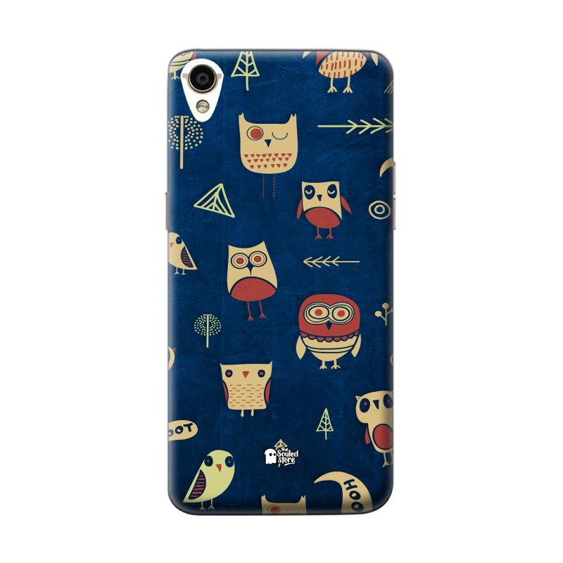 Owl Pattern (Dark) Oppo F1 Plus | The Souled Store