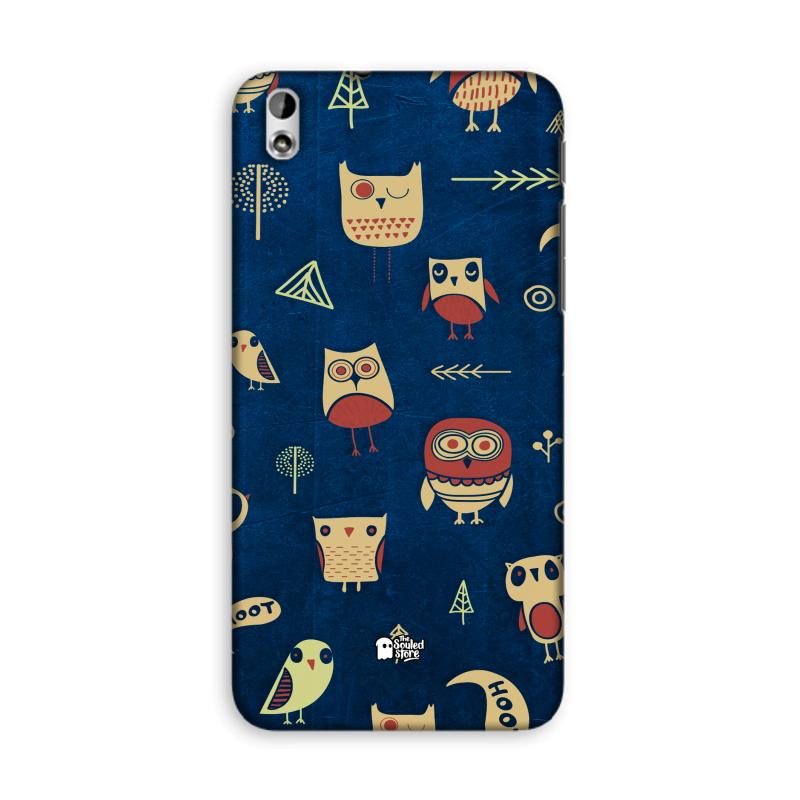 Owl Pattern (Dark) HTC Desire 816 | The Souled Store