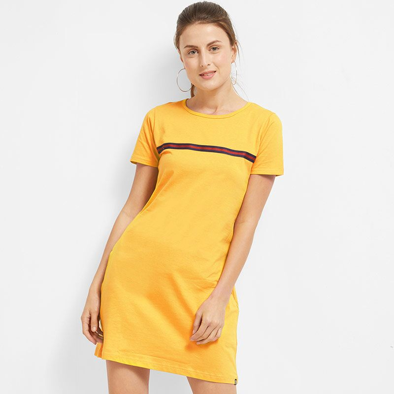 Mustard Mania T-Shirt Dresses | The Souled Store