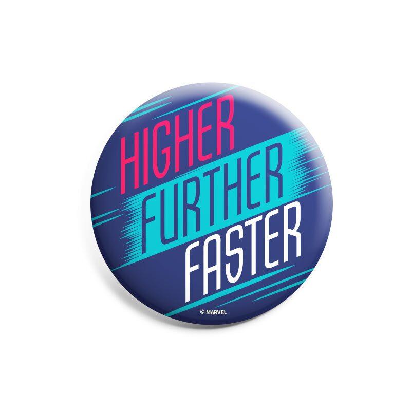 Captain Marvel: Higher Further Faster Badges | Marvel™