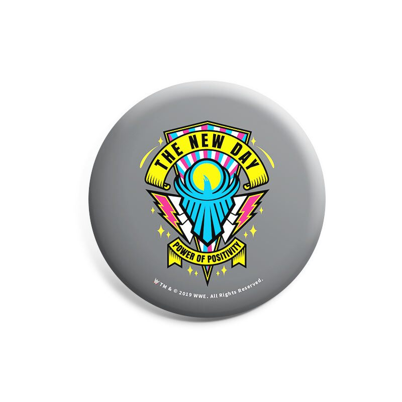 """WWE: New Day """"Power of Positivity"""" Badges 