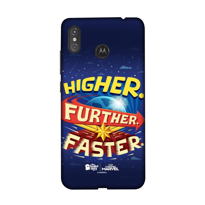 Captain Marvel: Higher Further Faster Moto One Power | Marvel™