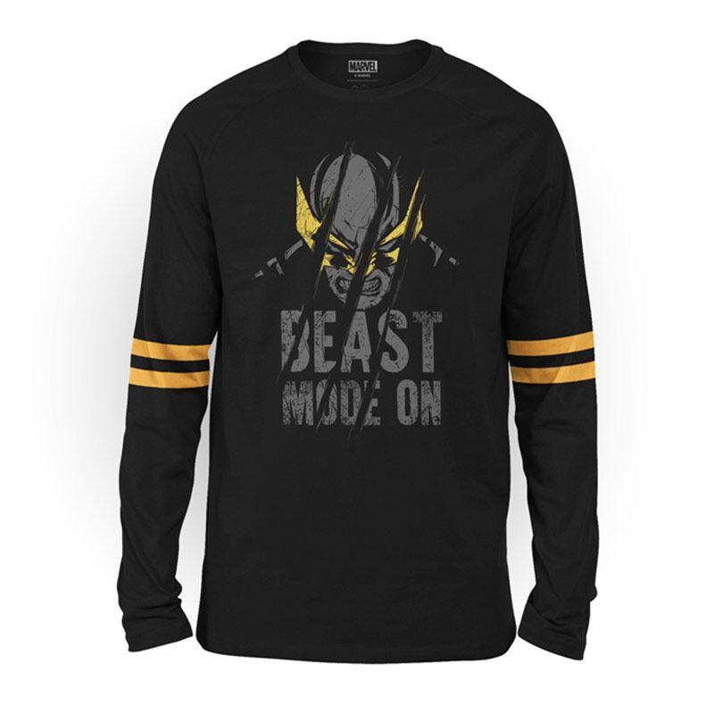 Wolverine: Beast Mode On Full Sleeve T-shirts | Marvel™