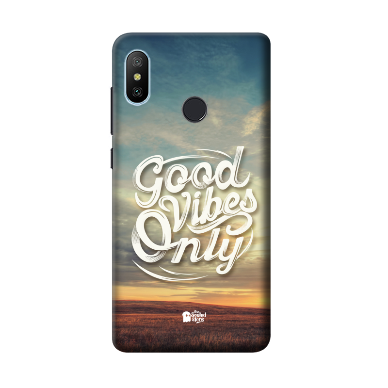 Good Vibes Only Redmi Note 5 Pro | The Souled Store