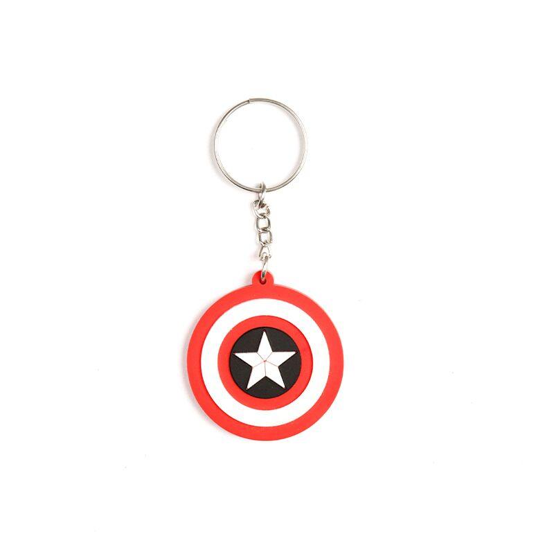 Captain America: Logo Keychains | Marvel™