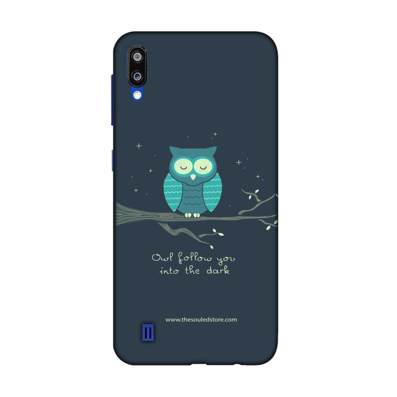 Romantic Owl Samsung M10   Hands Off My Dinosaur